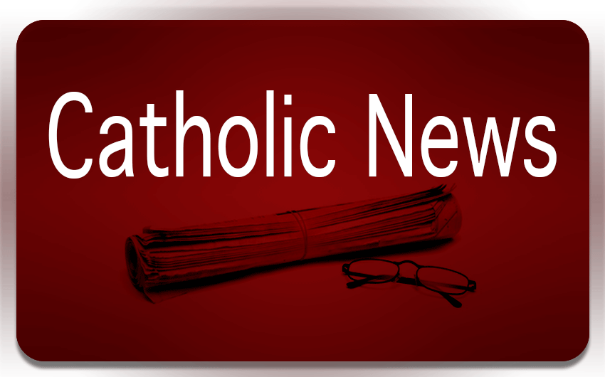 Catholic news button