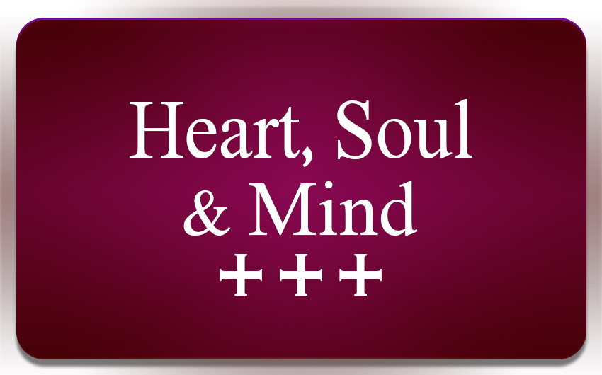 Heart Soul & Mind button